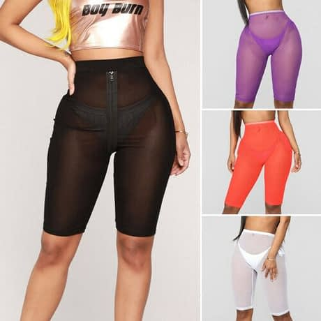 New-Women-Ladies-Skinny-High-Waist-Sporty-Fishnet-Mesh-cycling-Shorts-Black-White-Purple-Blue-Orange-4.jpg