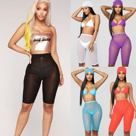 New-Women-Ladies-Skinny-High-Waist-Sporty-Fishnet-Mesh-cycling-Shorts-Black-White-Purple-Blue-Orange-2.jpg
